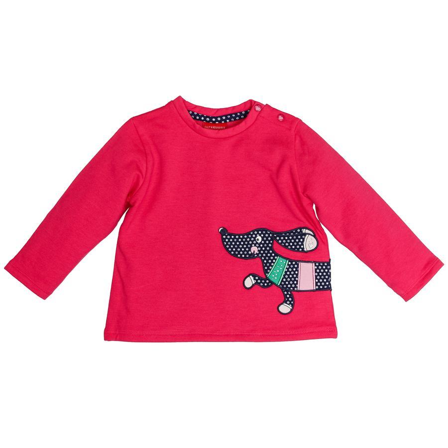 SALT AND PEPPER Girl Sweatshirt jamnik magenta