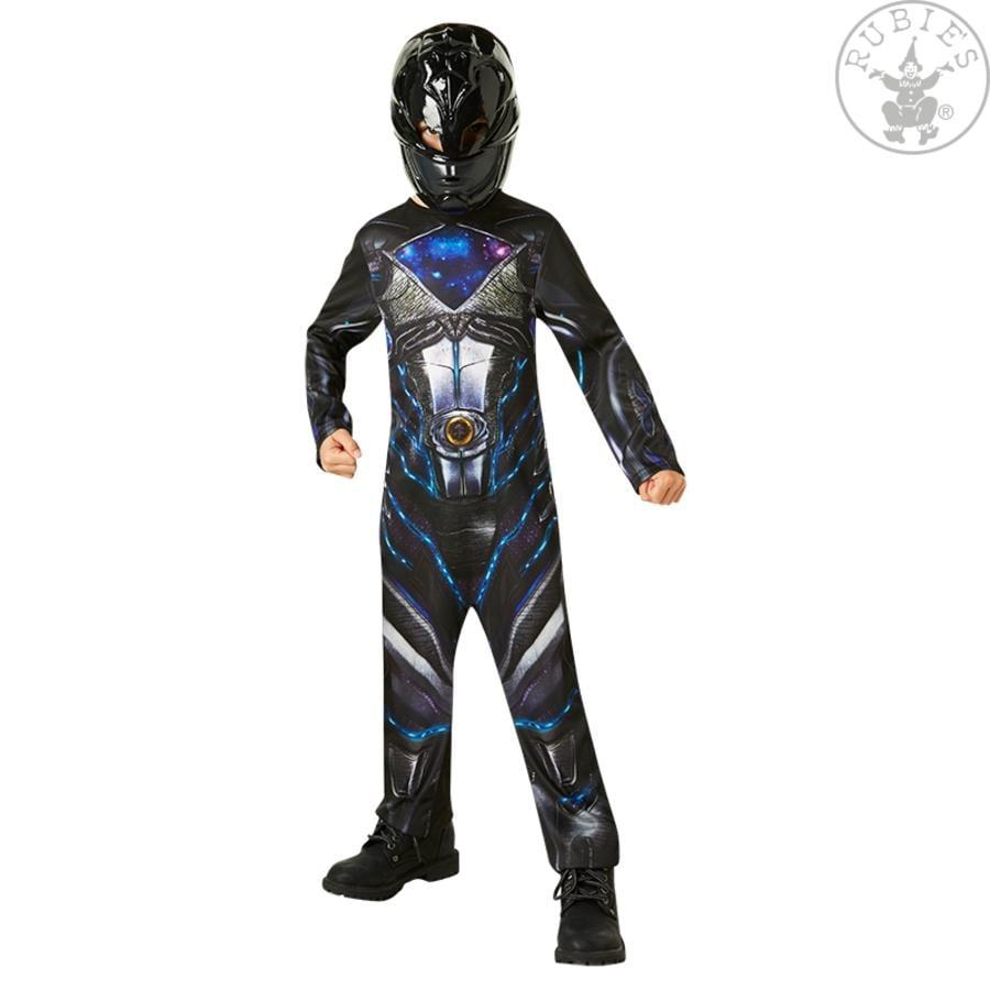 Rubies Karnevalskostüm Schwarzer Power Ranger Classic