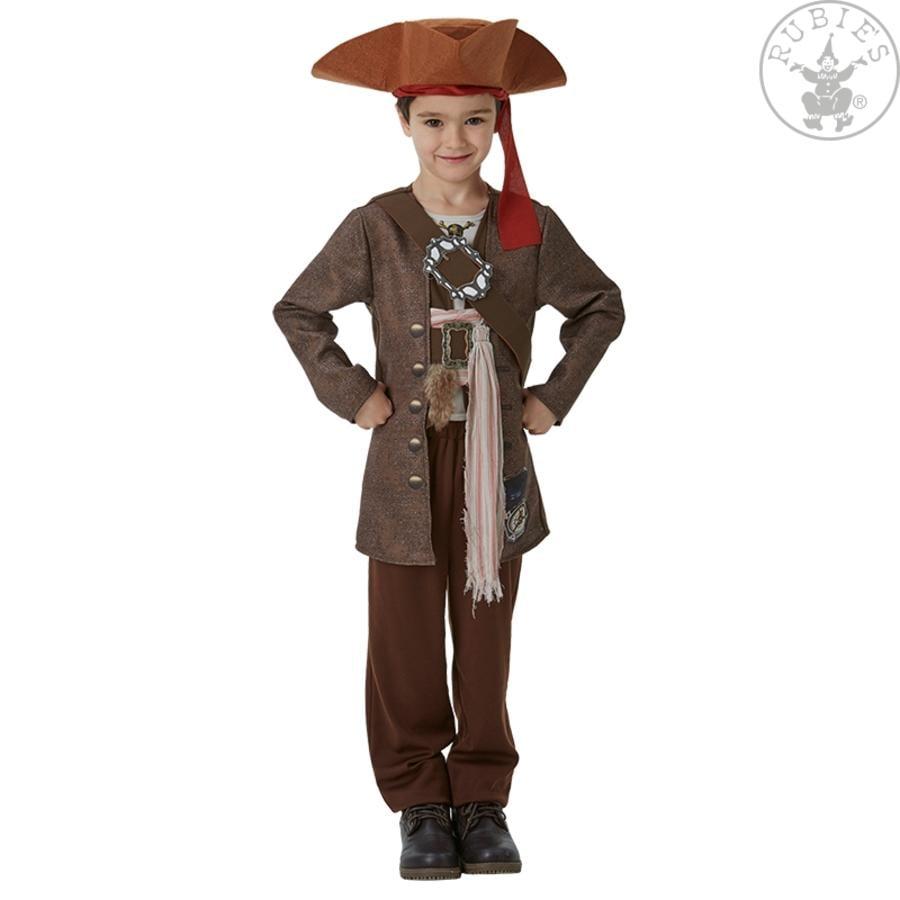 Traje de carnaval de rubíes Jack Sparrow Pirates of the Caribbean 5 Deluxe