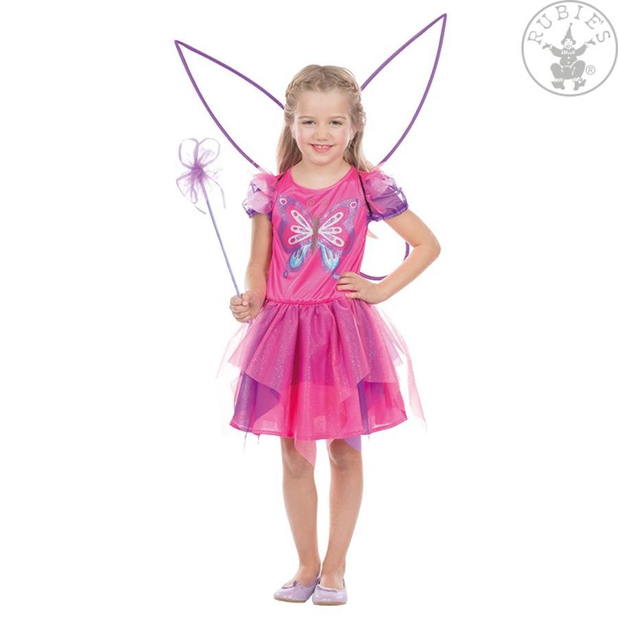 Robijnen carnavalskostuum vlinderfee