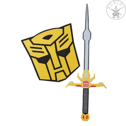 Rubíes Accesorios Bumblebee Set de Espada y Escudo