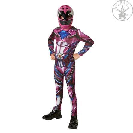 Rubies Karnevalskostüm Pink Power Ranger Classic