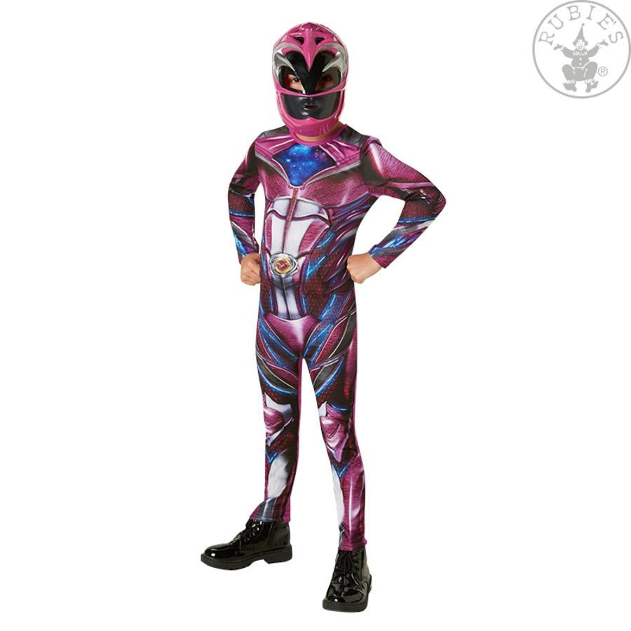 Rubiny Karnawałowy kostium różowy Power Ranger Classic