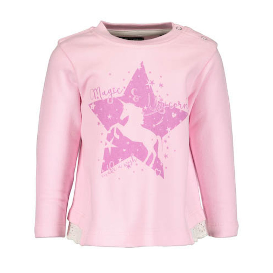 BLUE SEVEN Girls Sweatshirt rosa