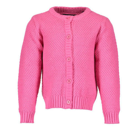 BLUE SEVEN Girls Strickjacke pink