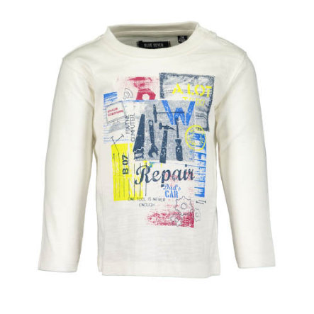 BLUE SEVEN Boys Langarmshirt off white