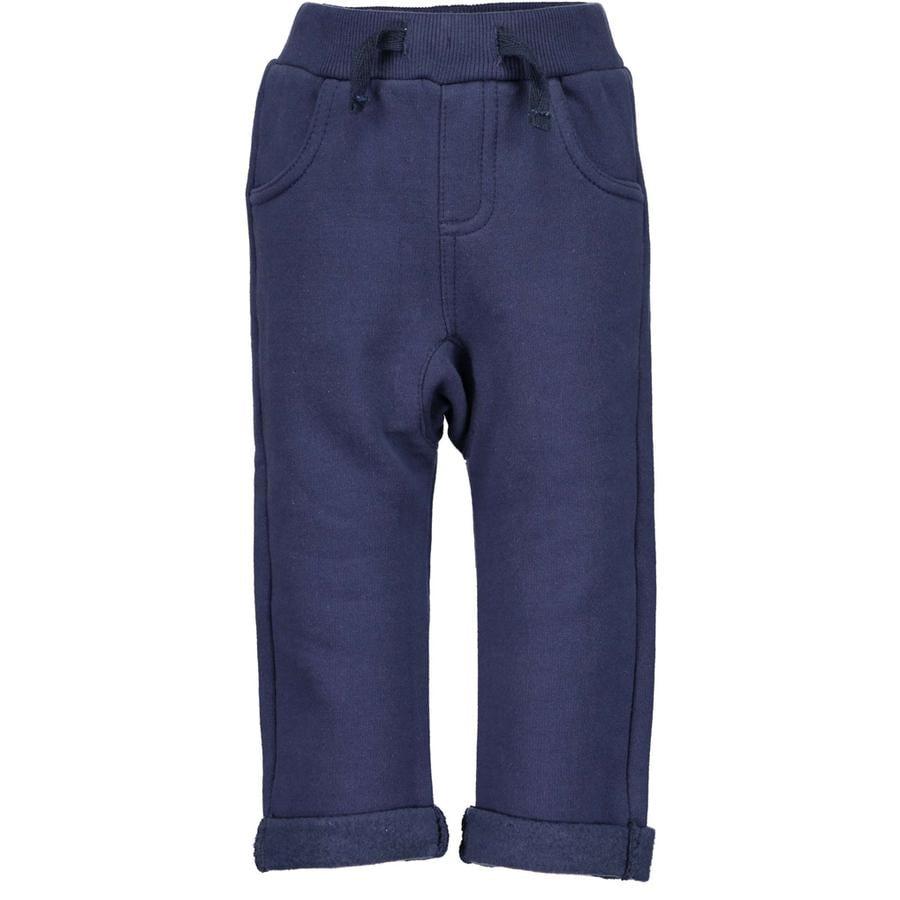BLUE SEVEN Boys spodnie dresowe niebieskie