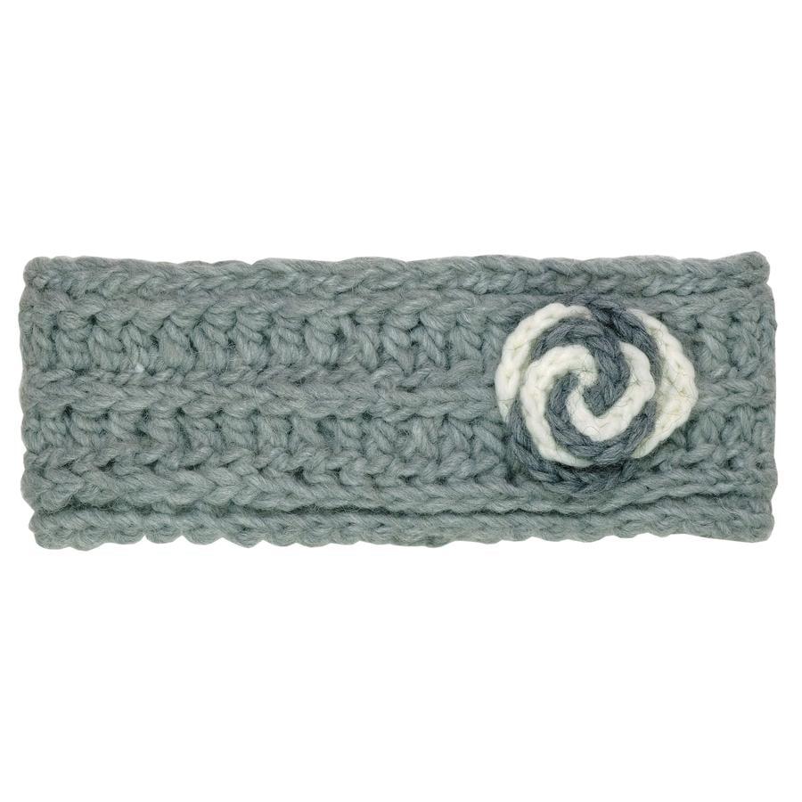 maximo Girls Headband crochet flower greyelange