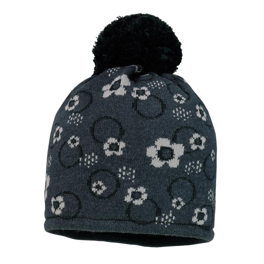 maximo Girl s cap fleurs carbonmelange
