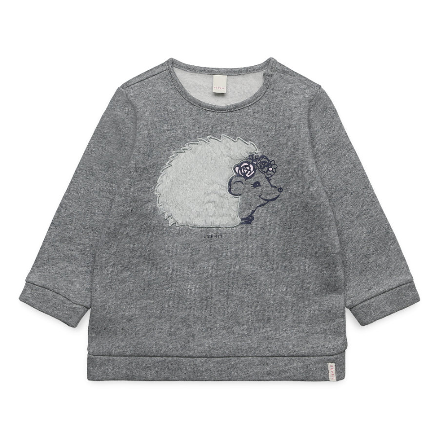 ESPRIT  Baby Girls Sweatshirt mid heather grey