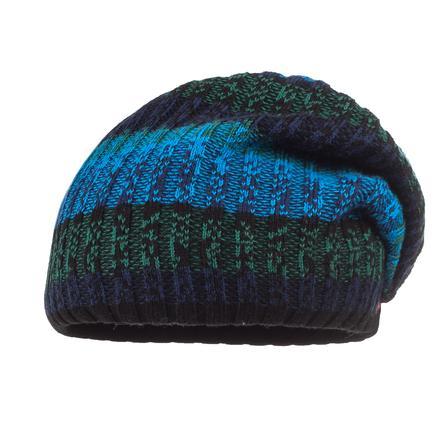 maximo Bonnet noir/bleuette
