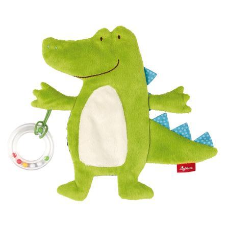sigikid® Aktiv-Kuscheltuch Krokodil