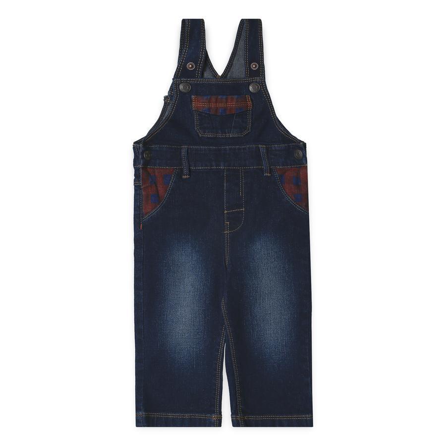 ESPRIT Boys Salopette en jean indigo foncé