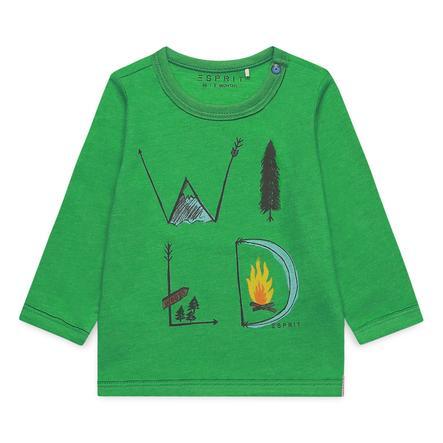 ESPRIT Boys Chemise manches longues vert vif