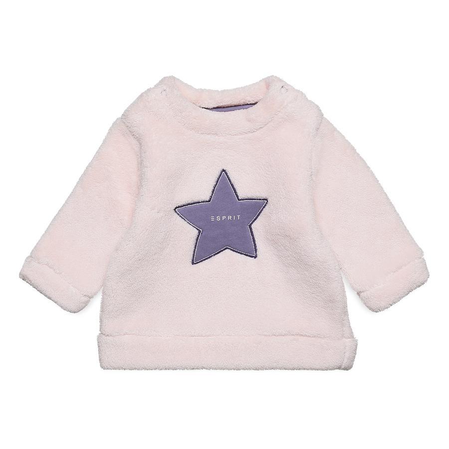 ESPRIT Girl s Sweatshirt lichtroze