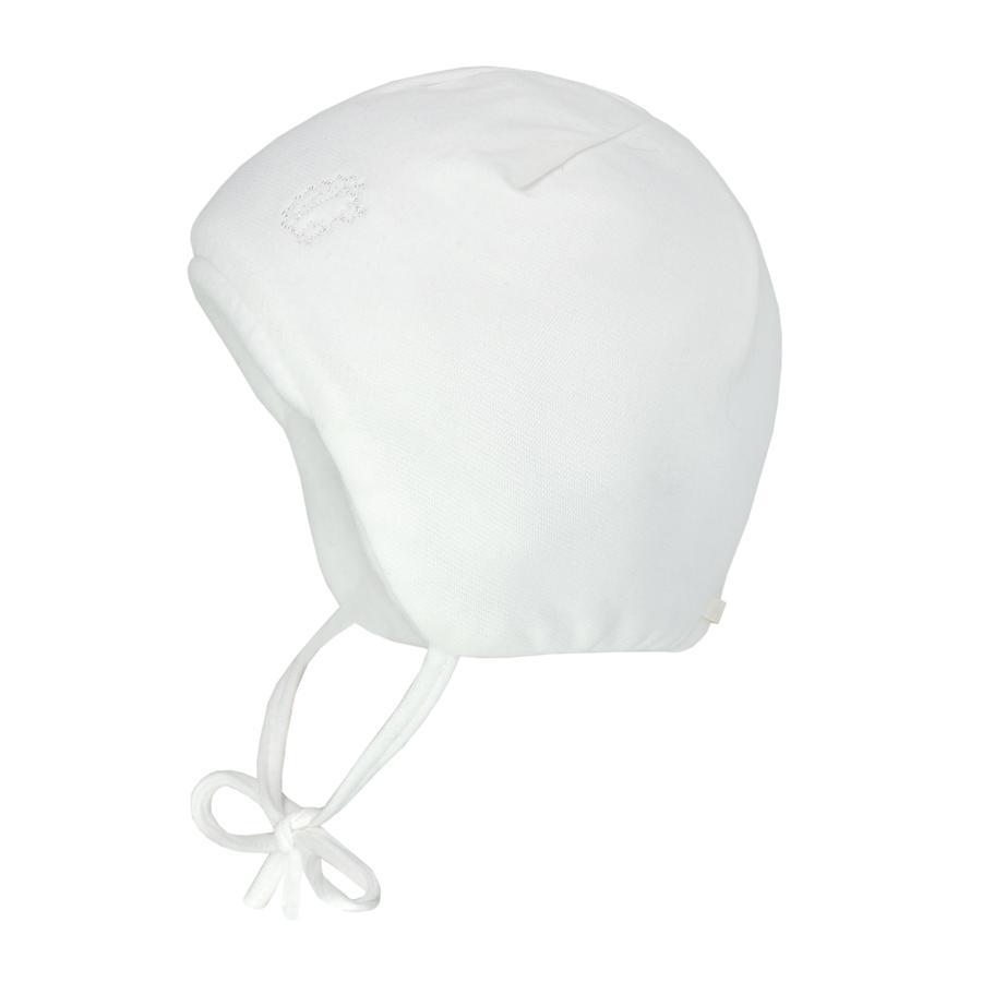 maximo Cap met stropdasbandwol wit