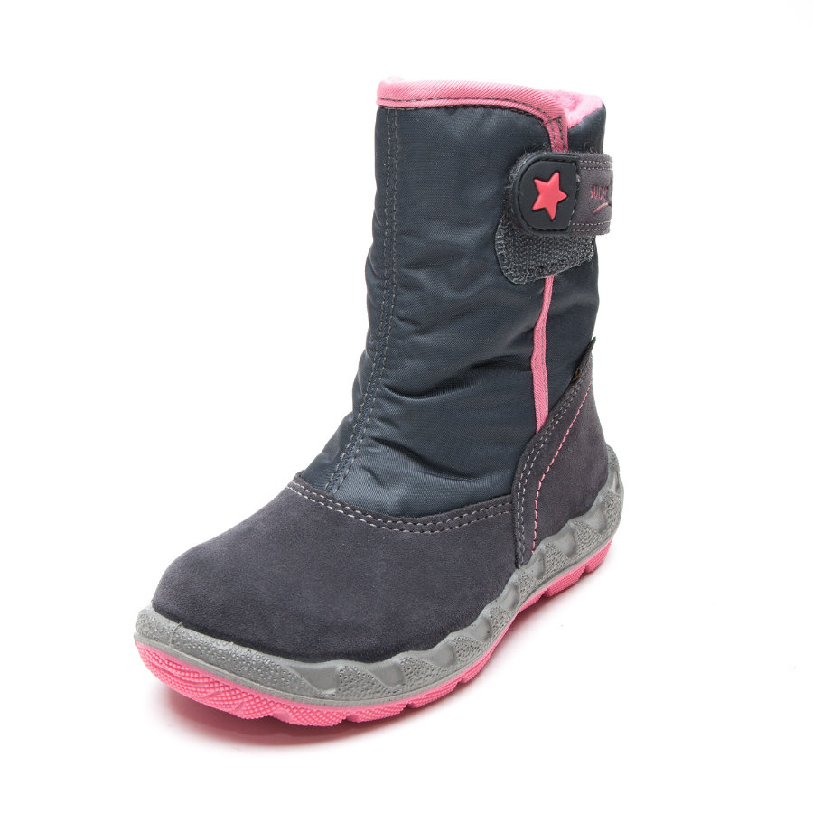 superfit Girls Stiefel Icebird charcoal kombi (weit)