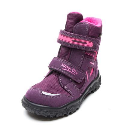 Superfit Girls zimní obuv Husky eggplant kombi (střední)