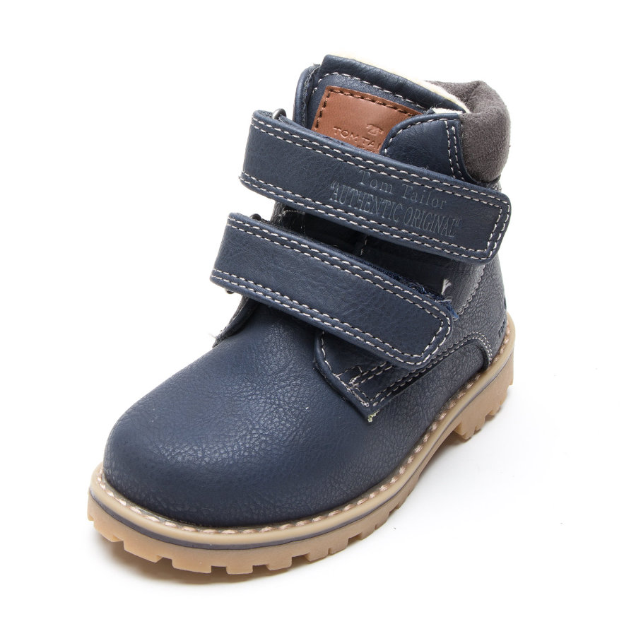 the latest 4dc71 e3759 TOM TAILOR Boys Stiefel Emblem navy