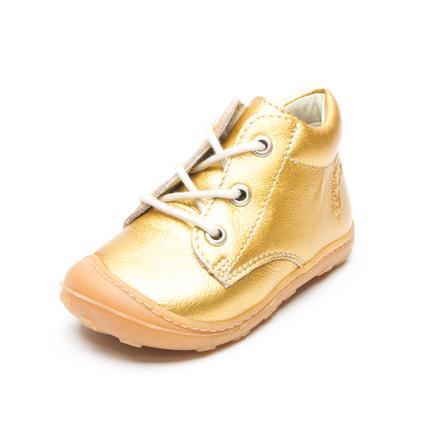 Pepino Buty do nauki chodzenia Corbi Metallic gold (średnie)
