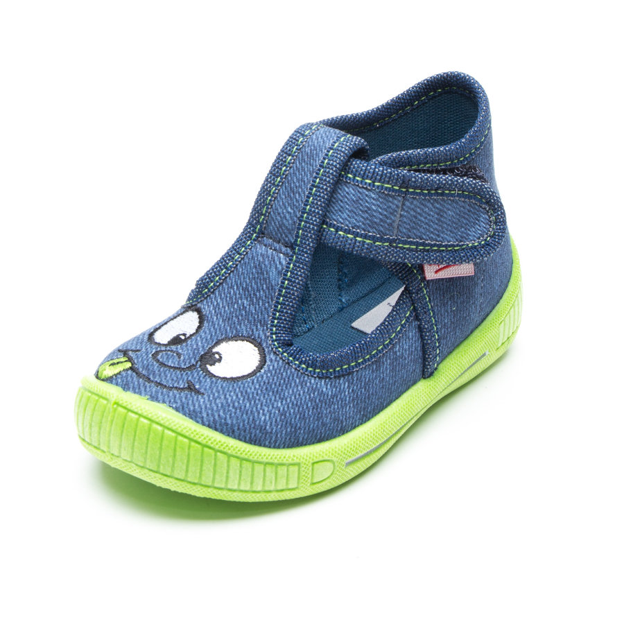 superfit Boys pantoffel gezicht water
