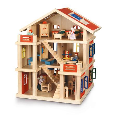 CHIC 2000 Třípodlažní domeček pro panenky