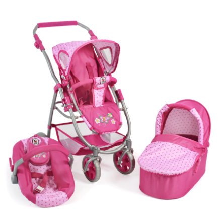 CHIC 2000 3 in 1 Combi EMOTION ALL IN - Dots Pink