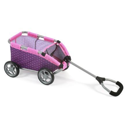 CHIC 2000 vozík SKIPPER - Dots Purple-Pink 40