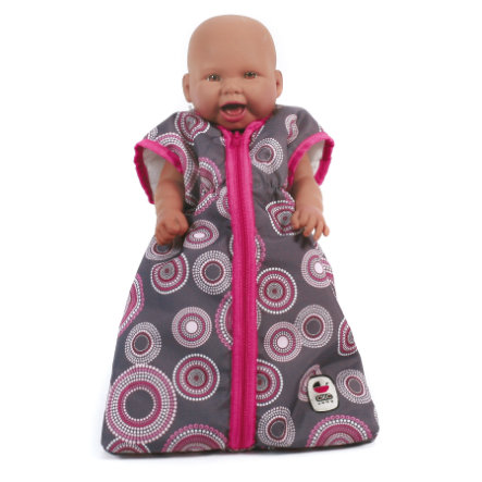 BAYER CHIC 2000 Puppen-Schlafsack hot pink pearls