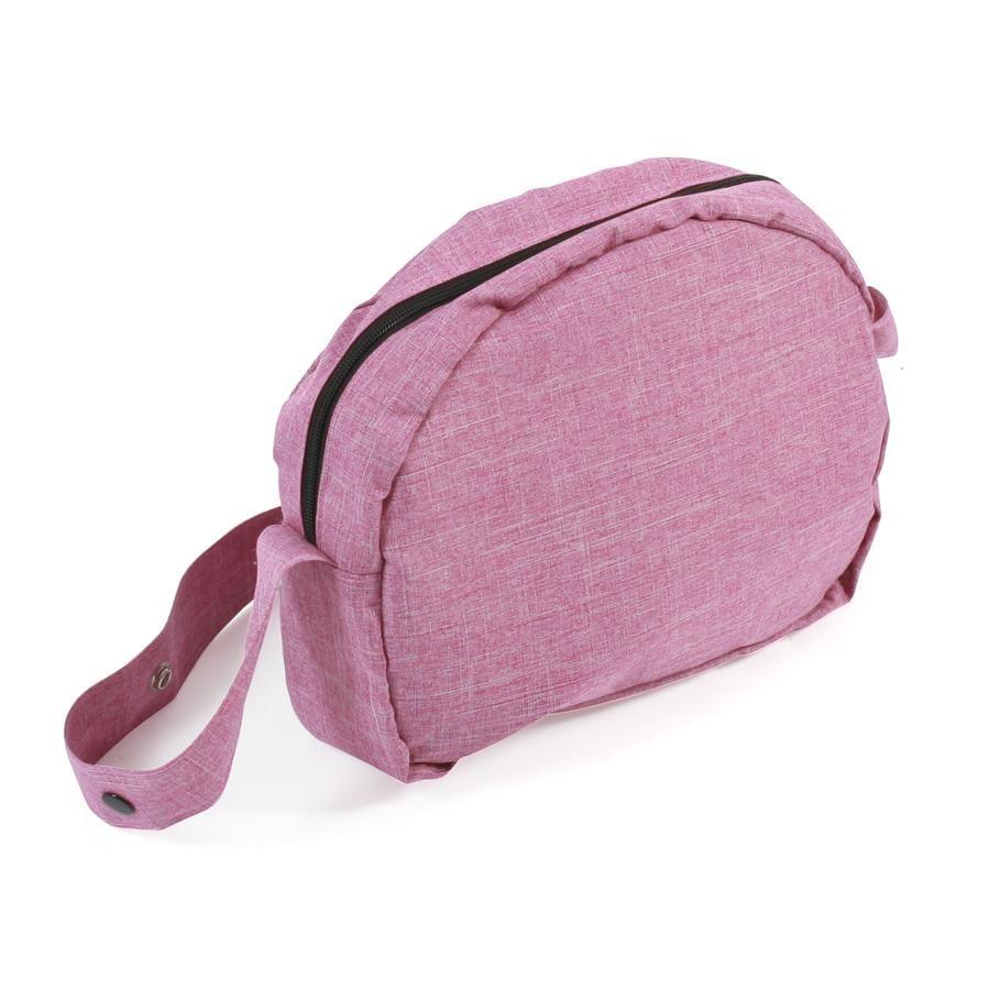 BAYER CHIC 2000 Borsa fasciatoio per bambole, Jeans pink