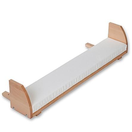 TOBI Babybay Prolongación de cuna Mini / Midi / Original madera natural lacada