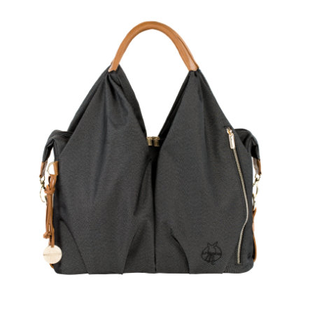 LÄSSIG Green Label Neckline Bag denim black