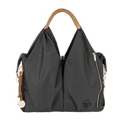 LÄSSIG Hoitolaukku Label Neckline Bag, Denim black