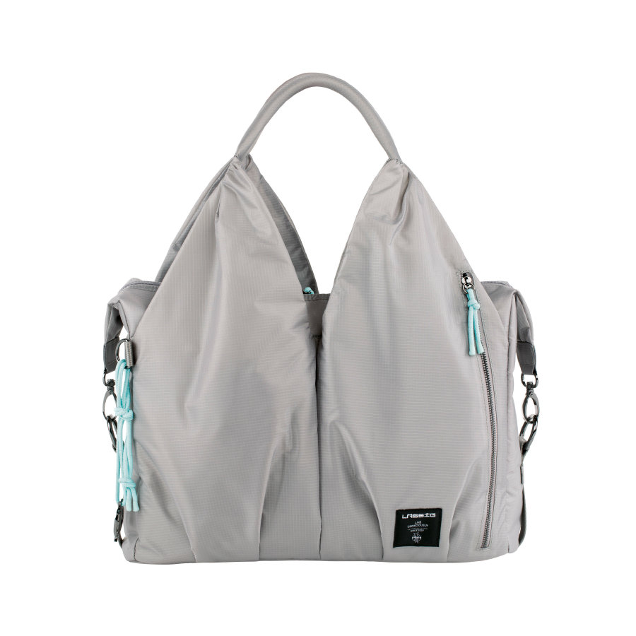 LÄSSIG Green Label Torba na akcesoria do przewijania Neckline Bag POP grey