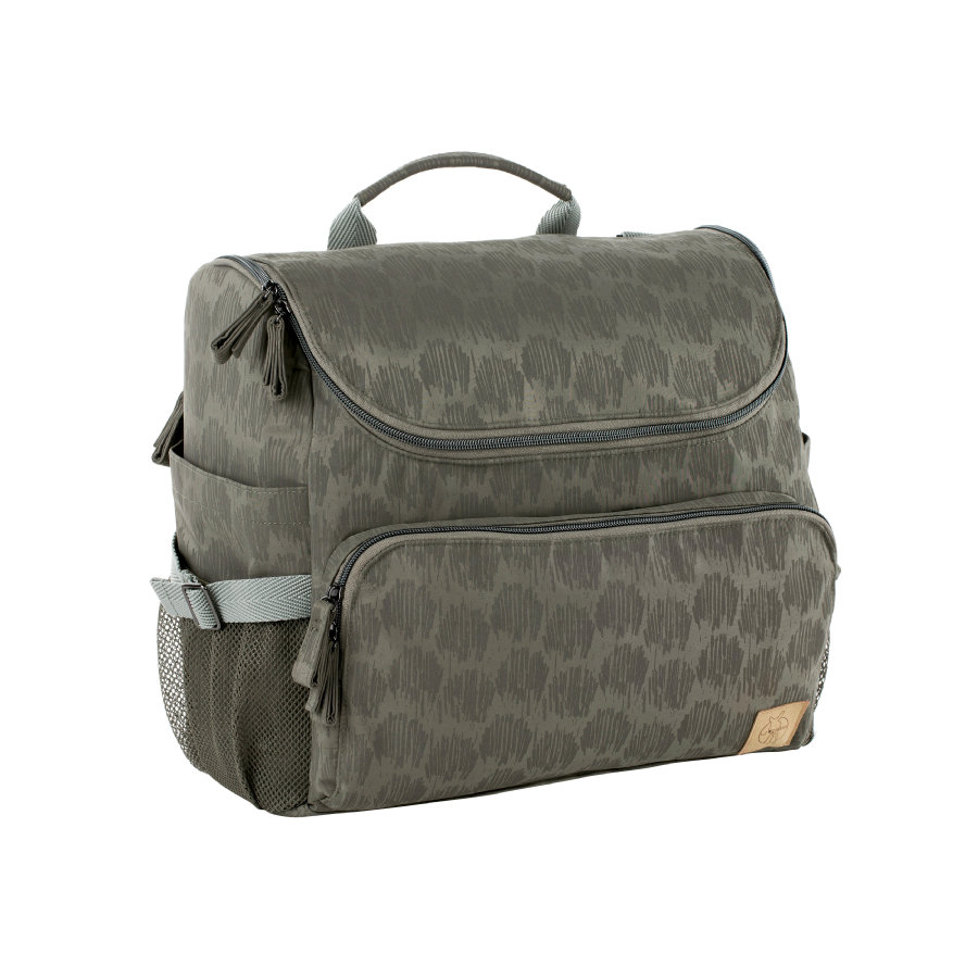 LÄSSIG Wickelrucksack Casual All-a-round Bag Grey