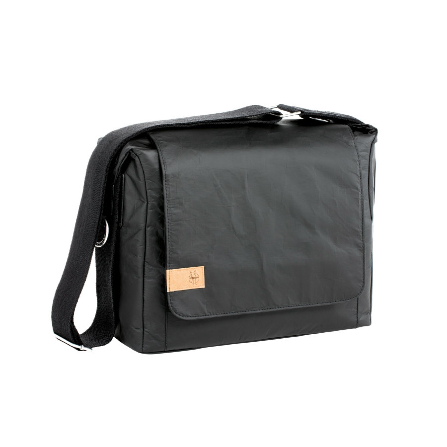 LÄSSIG Green Label Messenger Bag Tyve black