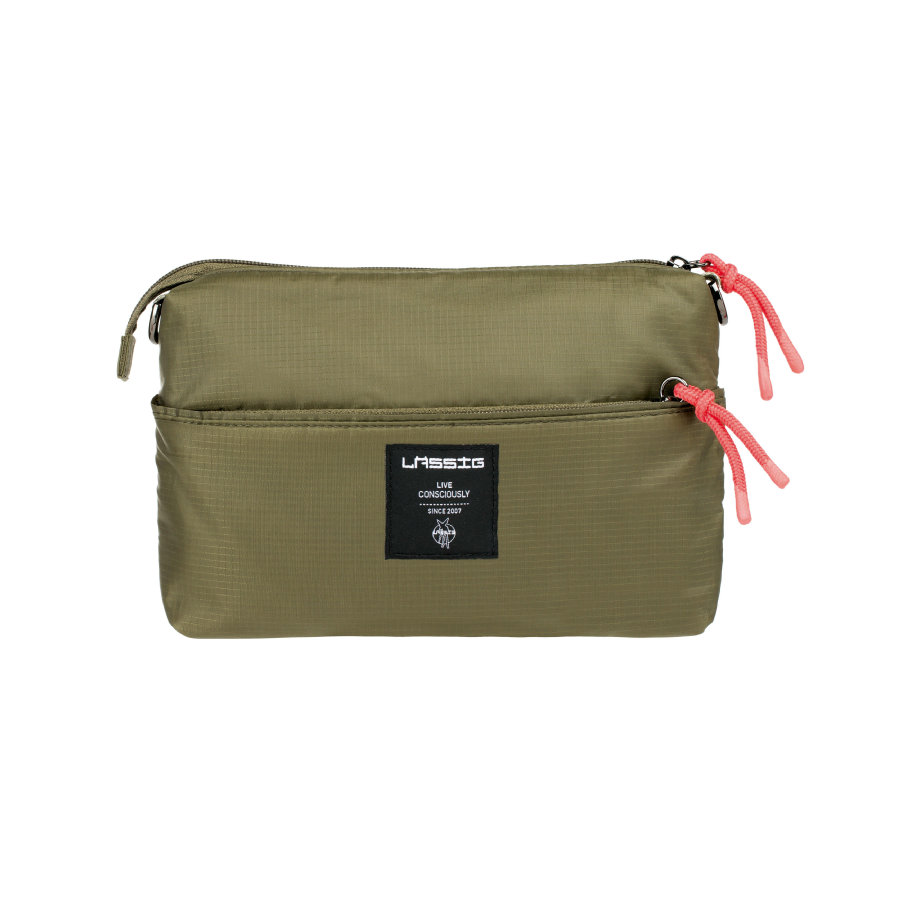 LÄSSIG Green Label Pouch POP olive