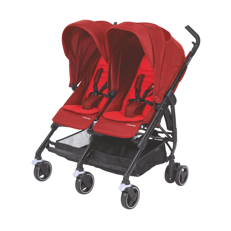 MAXI COSI Zwillingsbuggy Dana For2 Vivid Red