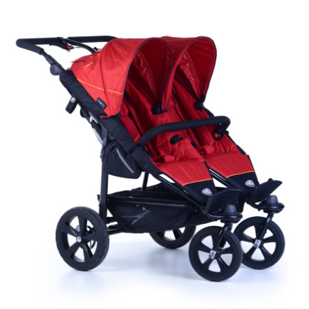 tfk Zwillingswagen Twin Trail - Tango Red