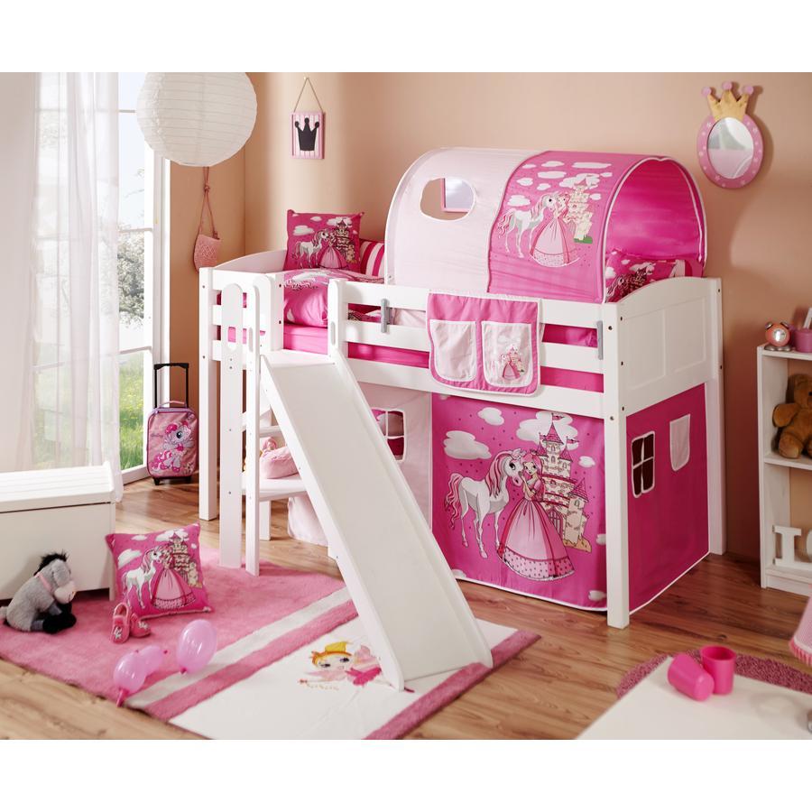 ticaa lit estrade enfant ekki country horse rose. Black Bedroom Furniture Sets. Home Design Ideas