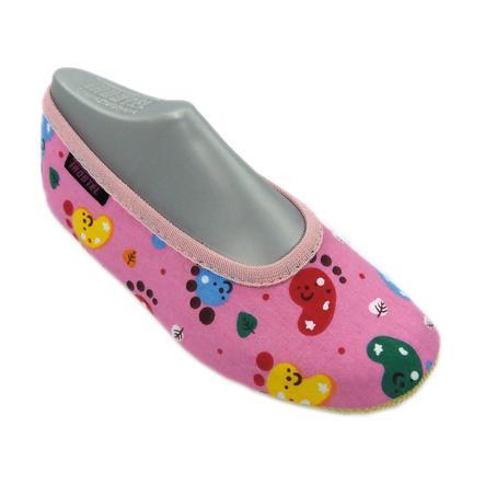 TROSTEL Gymnastiksko för tjejer Bambino Footprint