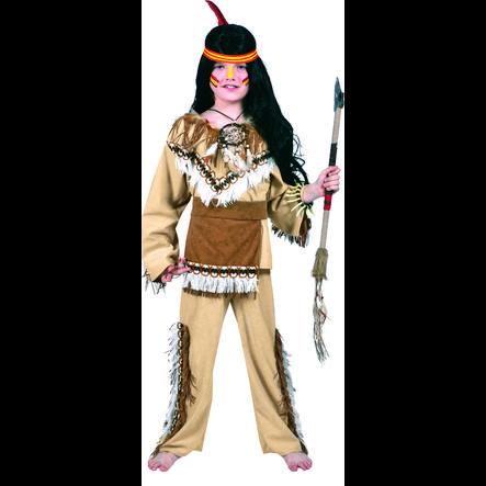 FUNNY FASHION Costume Carnaval enfant Indien