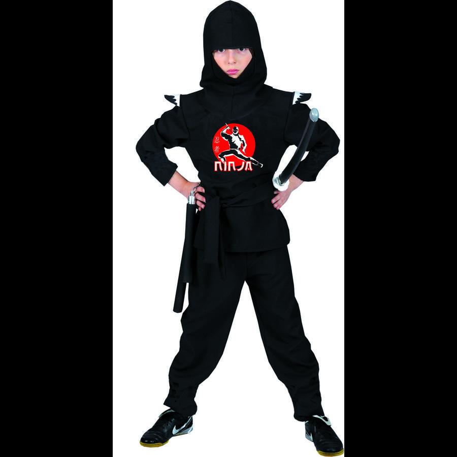 Funny Fashion Karneval Kostüm Ninja Kämpfer