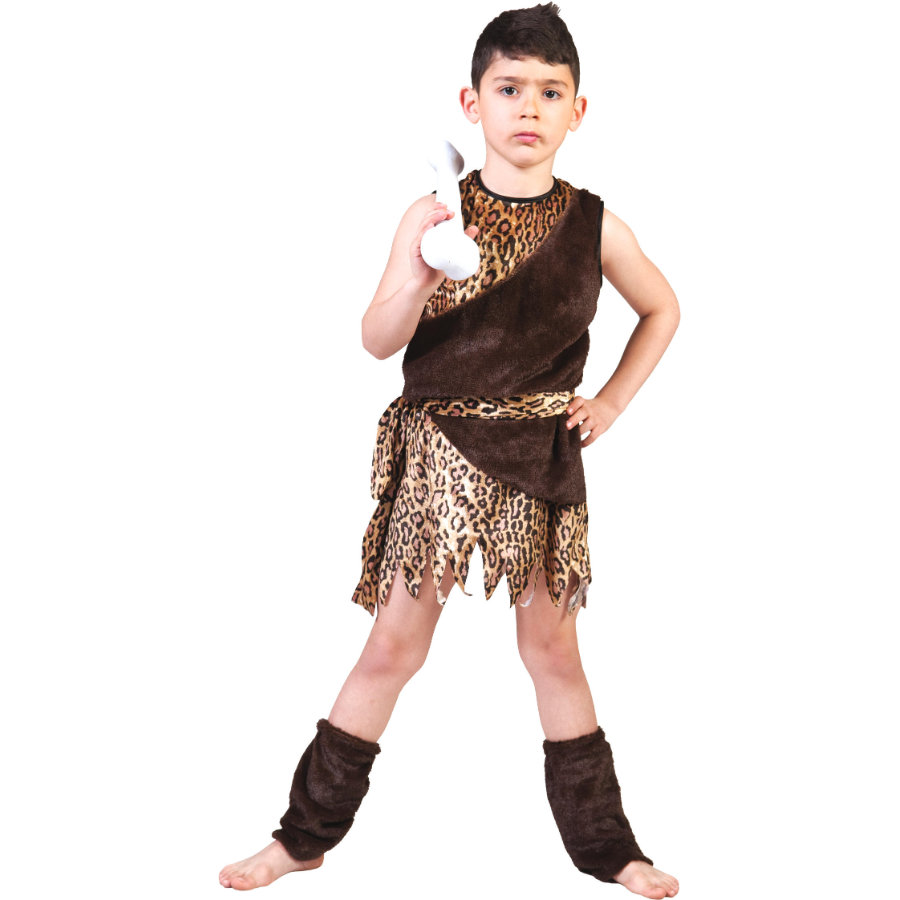 FUNNY FASHION Costume enfant Homo sapiens
