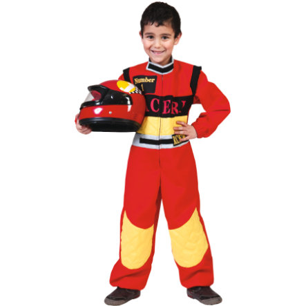 FUNNY FASHION Karneval Kostüm Rennfahrer Charlie