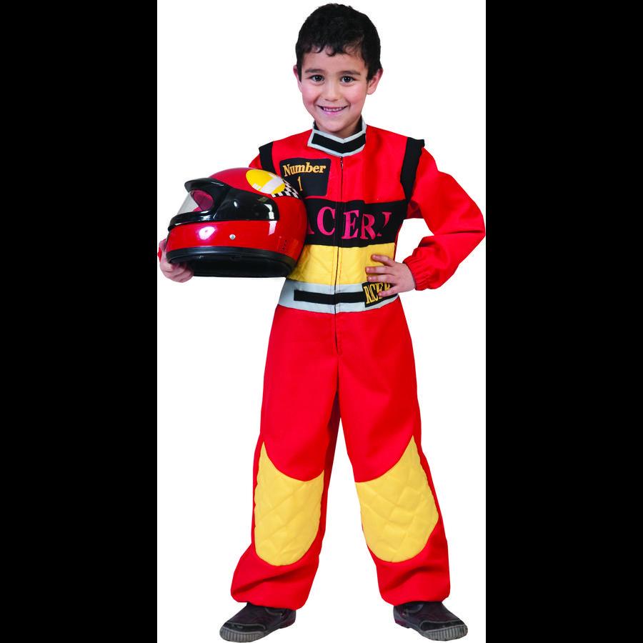 FUNNY FASHION El piloto de carreras de disfraces de carnaval Charlie