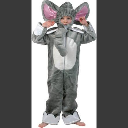 Funny Fashion Karnawałowy kostium słonia dumbo
