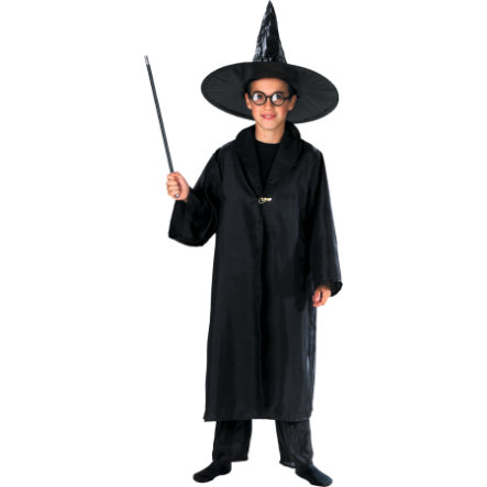 FUNNY FASHION Kostüm Umhang Kleiner Zauberer