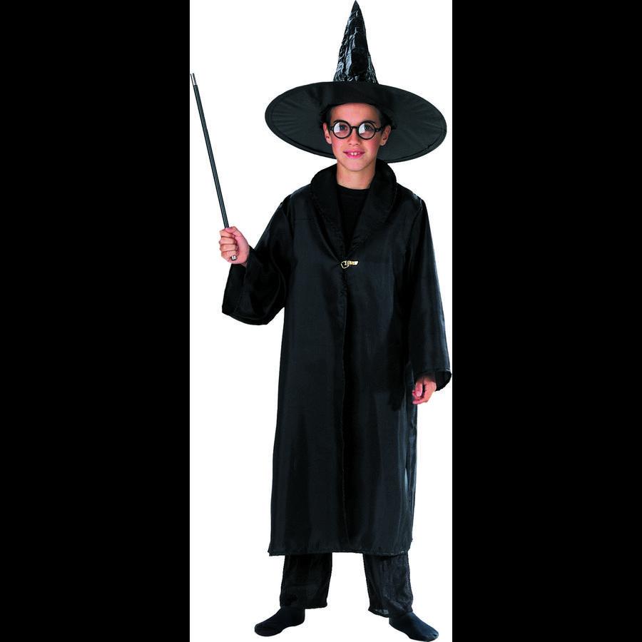FUNNY FASHION Costume di Carnevale mantello del mago