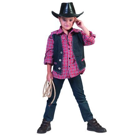 Funny Fashion Chaleco vaquero disfrazado de carnaval